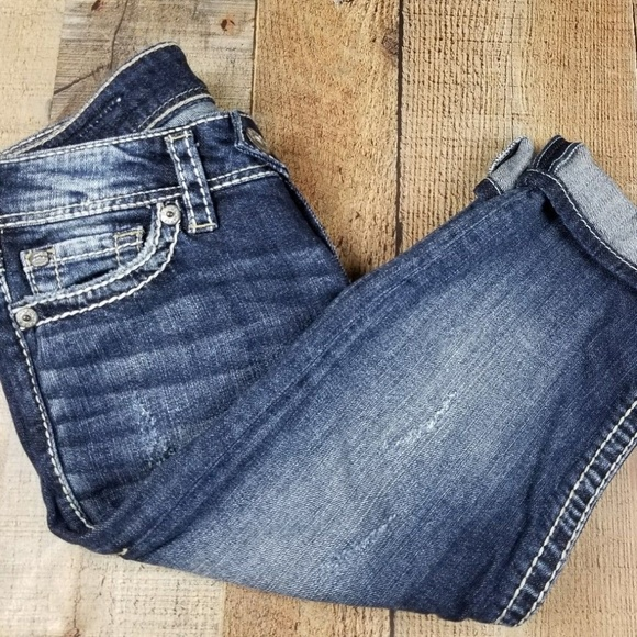 83c821c4 Silver Jeans Jeans | Tuesday Crop As20 | Poshmark